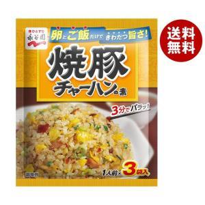 送料無料 【2ケースセット】永谷園 焼豚チャーハンの素 27g×10袋入×(2ケース)