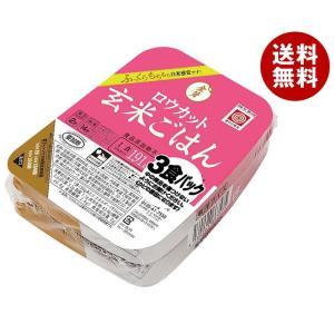 【送料無料】トーヨーライス 金芽ロウカット玄米ごはん (150g×3食)×8個入|misonoya