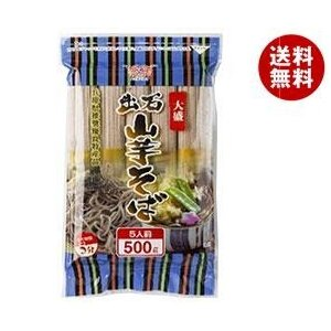 【送料無料】田靡製麺 大盛出石山芋そば 500g×12袋入|misonoya