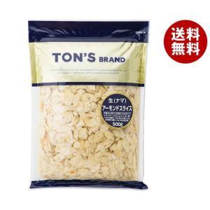 【送料無料】東洋ナッツ食品 トン アーモンドスライス(生) 500g×12袋入 misonoya