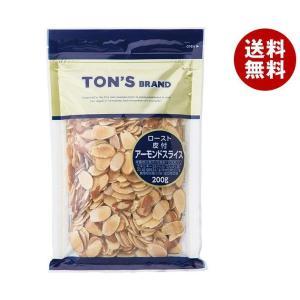 【送料無料】東洋ナッツ食品 トン 皮付きアーモンドスライス 200g×20袋入 misonoya