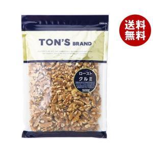 【送料無料】東洋ナッツ食品 トン クルミ 500g×10袋入 misonoya