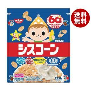 【送料無料】日清シスコ シスコーンBIG フロスト 220g×6袋入 misonoya