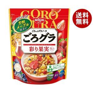 【送料無料】日清シスコ ごろっとグラノーラ 5種の彩り果実 400g×6袋入 misonoya