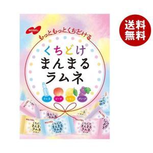 【送料無料】ノーベル製菓 まんまるラムネ 80g×6袋入 misonoya