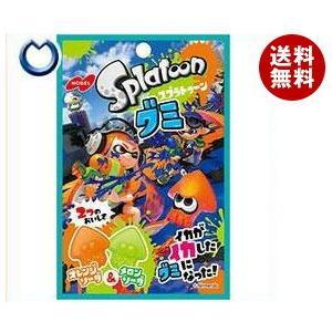 【送料無料】ノーベル製菓 スプラトゥーングミ オレンジソーダ&メロンソーダ 45g×6袋入 misonoya