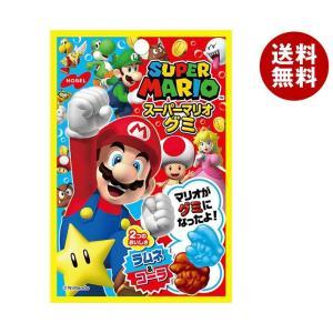 【送料無料】ノーベル製菓 スーパーマリオグミ ラムネ&コーラ 45g×6袋入 misonoya