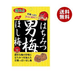 【送料無料】ノーベル製菓 はちみつ男梅ほし梅 20g×6袋入 misonoya