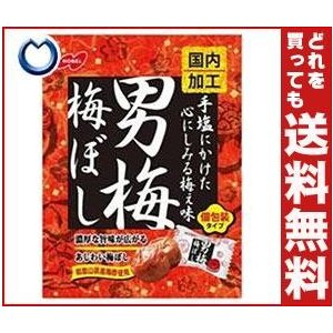 【送料無料】ノーベル製菓 男梅梅ぼし 52g×6袋入 misonoya