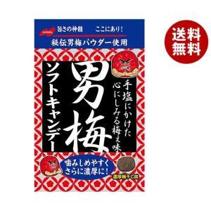 【送料無料】ノーベル製菓 男梅ソフトキャンデー 35g×6袋入|misonoya
