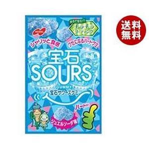 【送料無料】ノーベル製菓 宝石サワーズ(SOURS) ジュエルソーダ 45g×6袋入 misonoya