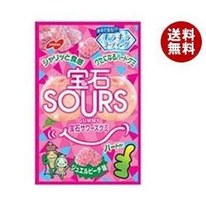 【送料無料】ノーベル製菓 宝石サワーズ(SOURS) ジュエルピーチ 45g×6袋入 misonoya