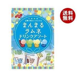 【送料無料】ノーベル製菓 まんまるラムネ ドリンクアソート 80g×6袋入 misonoya