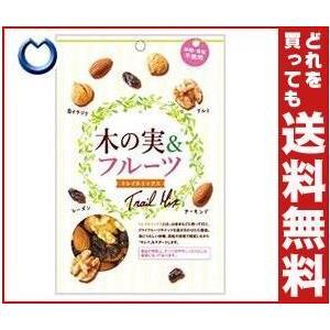 【送料無料】共立食品 木の実&フルーツ(トレイルミックス)徳用 120g×10袋入 misonoya