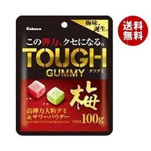 【送料無料】カバヤ タフグミ 梅 100g×6袋入 misonoya