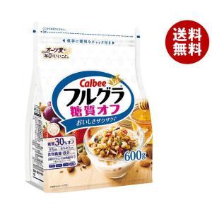 【送料無料】カルビー フルグラ 糖質オフ 600g×6袋入 misonoya