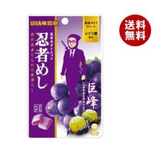 【送料無料】UHA味覚糖 忍者めし (巨峰) 20g×10袋入|misonoya