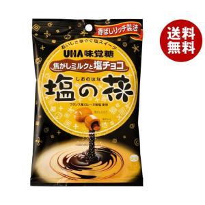 【送料無料】UHA味覚糖 塩の花 焦がしミルクと塩チョコ 80g×6袋入|misonoya