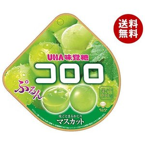 【送料無料】UHA味覚糖 コロロ マスカット 48g×6袋入|misonoya