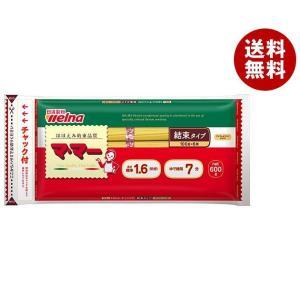 【送料無料】日清フーズ マ・マー チャック付結束スパゲティ 1.6mm 600g×20袋入|misonoya
