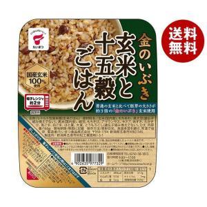 送料無料 たいまつ食品 金のいぶき 玄米と十五穀ごはん 160g×24(6×4)個入