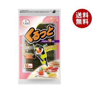 【送料無料】大森屋 くるっと 3切16枚×10袋入|misonoya
