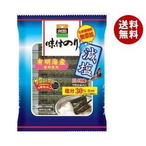 【送料無料】大森屋 減塩味付のり 12切5枚6束×10袋入|misonoya