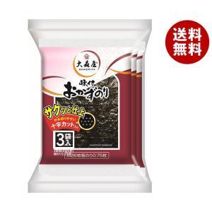 【送料無料】大森屋 おかずのり 8切6枚3袋×30袋入|misonoya