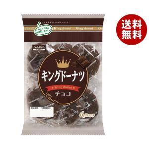 送料無料 丸中製菓 キングドーナツ チョコ 6個×6袋入