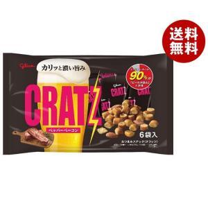 【送料無料】グリコ クラッツ ペッパーベーコン 102g×8袋入|misonoya