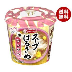 【送料無料】エースコック スープはるさめ ワンタン 24g×12(6×2)個入 misonoya