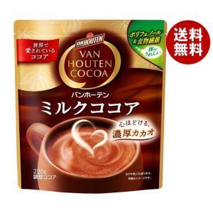 【送料無料】片岡物産 バンホーテン ミルクココア 240g×12袋入|misonoya