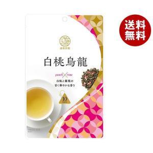 【送料無料】三井農林 遊香茶館 白桃烏龍 2g×10袋×24袋入|misonoya