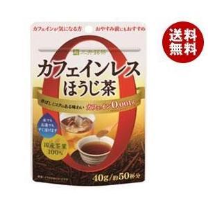 【送料無料】三井農林 三井銘茶 カフェインレス緑茶 ほうじ茶 40g×24袋入|misonoya