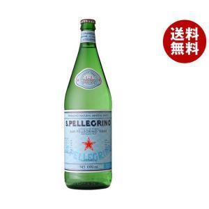 【送料無料】サンペレグリノ 1L瓶×12本入...