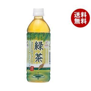 【送料無料】 富永貿易 神戸居留地 緑茶 500mlペットボトル×24本入|misonoya