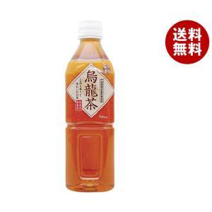 【送料無料】富永貿易 神戸茶房 烏龍茶 500mlペットボトル×24本入|misonoya