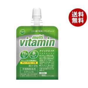 【送料無料】 富永貿易 クイックエイド マルチビタミン 180gパウチ×30本入|misonoya