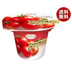【送料無料】たらみ とろける味わい 本格フルーティトマトジュレ 210g×18(6×3)個入|misonoya