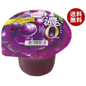 【送料無料】たらみ 濃いゼロカロリー 濃いぶどうゼリー0kcal 195g×24(6×4)個入|misonoya