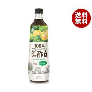 送料無料 CJジャパン 美酢(ミチョ) カラマンシー 900mlペットボトル×12本入