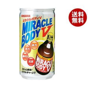 【送料無料】サンガリア ミラクルボディV 190g缶×30本入|misonoya