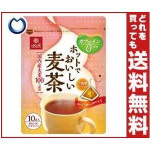 【送料無料】【2ケースセット】はくばく ホットでおいしい麦茶 7gx10×10袋入×(2ケース)