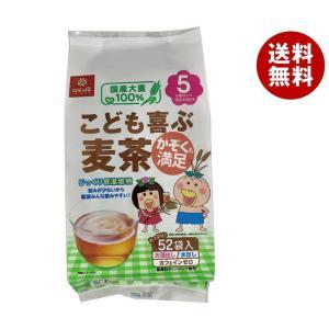 【送料無料】はくばく こども喜ぶ麦茶 416g(8gx52袋)×12袋入|misonoya