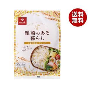 【送料無料】はくばく 雑穀のある暮らし 黄色いブレンド(七穀) 180g(30g×6袋)×6袋入|misonoya