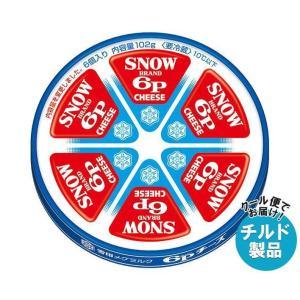 送料無料 【チルド(冷蔵)商品】雪印メグミルク 6Pチーズ 108g×12個入