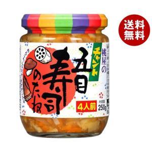 【送料無料】桃屋 チャント五目寿司のたね 250g瓶×6個入|misonoya