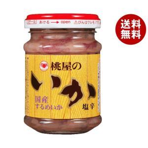 送料無料 【2ケースセット】桃屋 いか塩辛 110g瓶×6個入×(2ケース)|MISONOYA PayPayモール店
