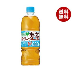 【送料無料】サントリー GREEN DAKARA(グリーン ダカラ) やさしい麦茶【手売り用】 650mlペットボトル×24本入|misonoya