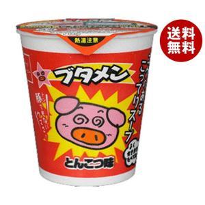 【送料無料】おやつカンパニー カップブタメン(とんこつ) 37g×15個入|misonoya